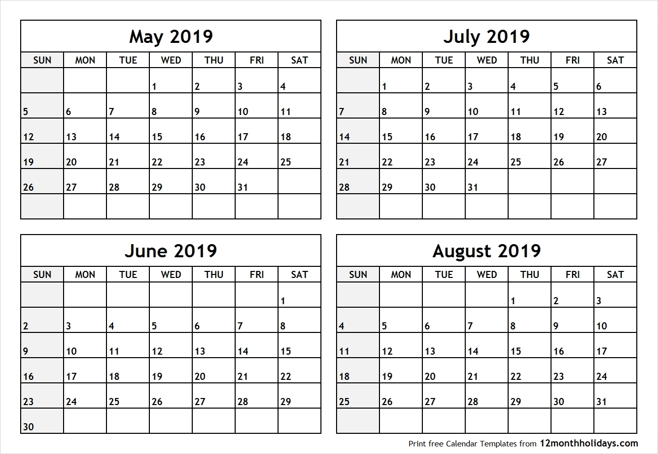 Calendar 2019 May June July | Template Calendar Printable Calendar 2019 May June
