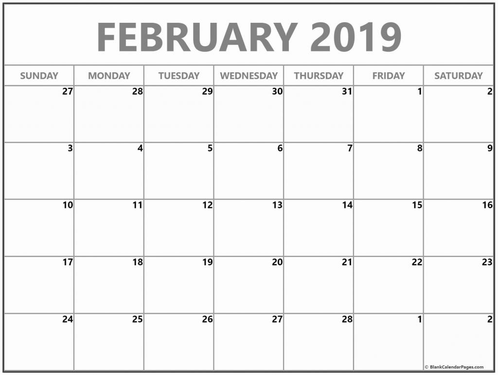 Calendar 2019 Vertex42 With February Templates And Images | Modern Calendar 2019 Vertex 42