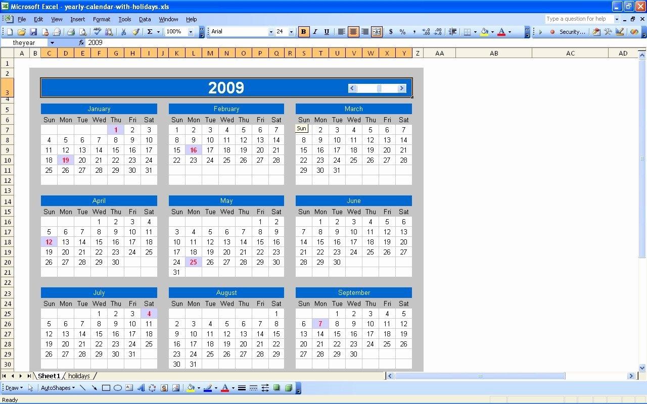 Calendar 2019 Xlsx | Free Coloring Pages Calendar 2019 Xlsx