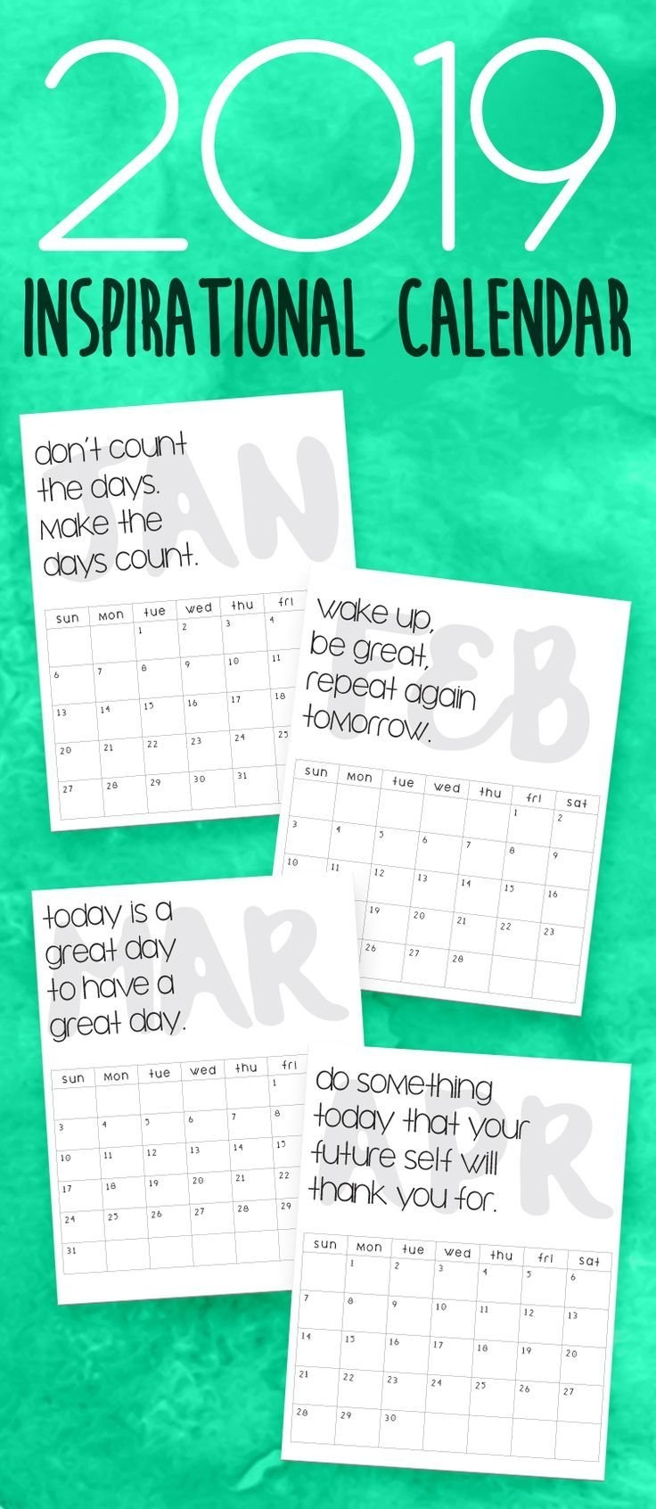 Calendars | {Ideas Diy} | Pinterest | Calendar, Printables And 2019 Calendar 2019 Ideas