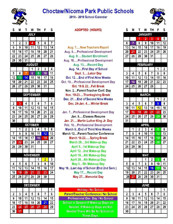 Calender 2019 School At Seimado School Calendar 2019-20 Broward