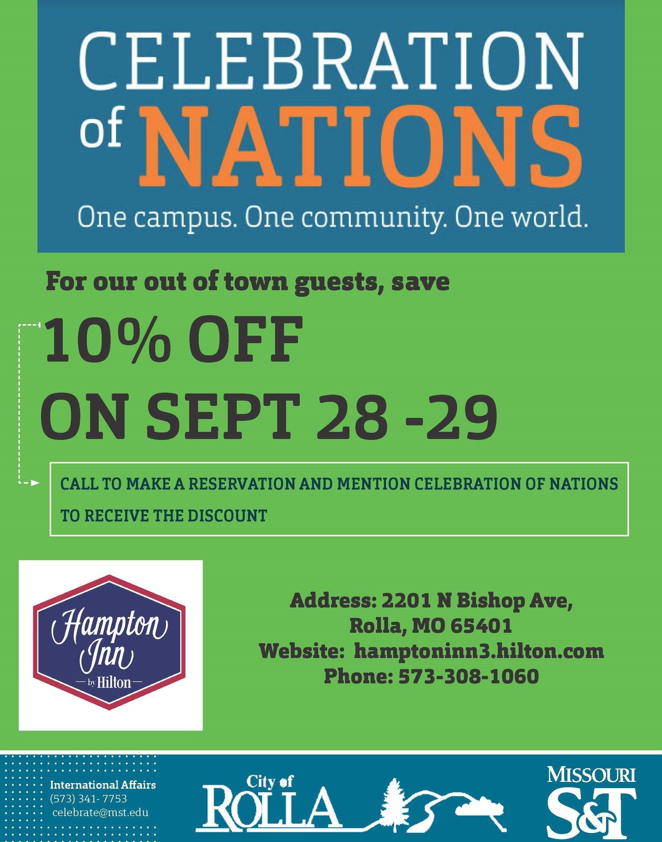 Celebration Of Nations – Celebration Of Nations   Missouri S&t Missouri S&t Calendar 2019