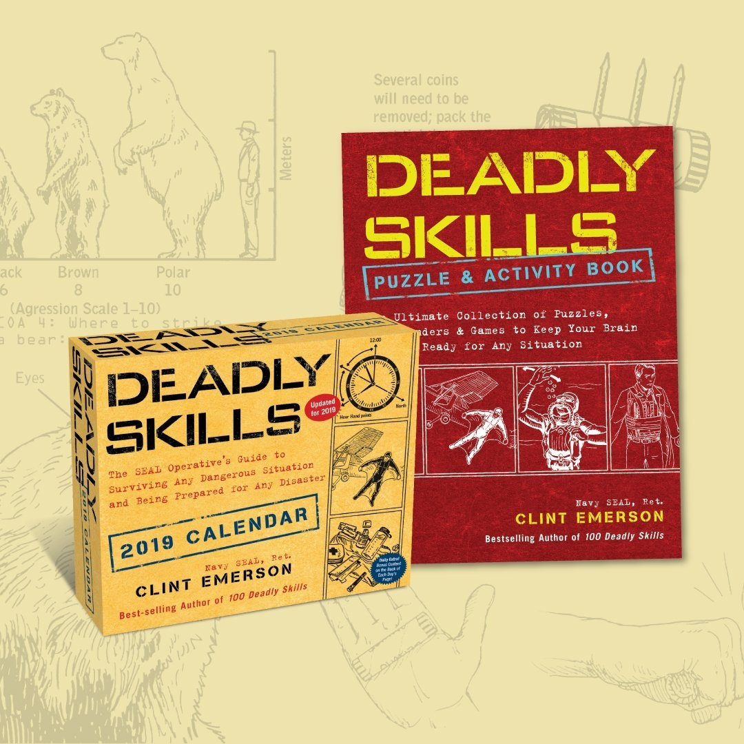"Clint Emerson On Twitter: ""check Out The 2019 Deadly Skills Calendar 2019 Barnes And Noble"
