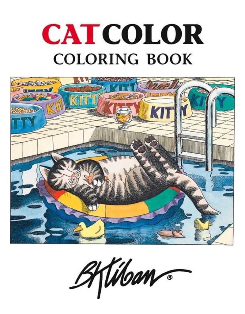 Coloring Book Kliban/cat M/12 - Elysian Fields B Kliban Cat Calendar 2019