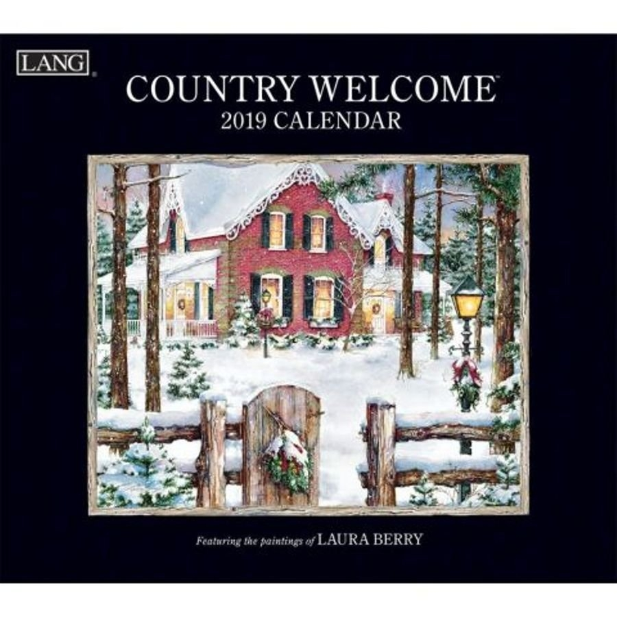 Country Welcome 2019 Lang Calendarartist Laura Berry. The Calendar 2019 Lang