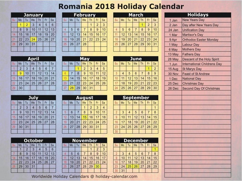 Downloads. Calendar Romania December 2018November 2019. Year 2018 Calendar 2019 Romanesc