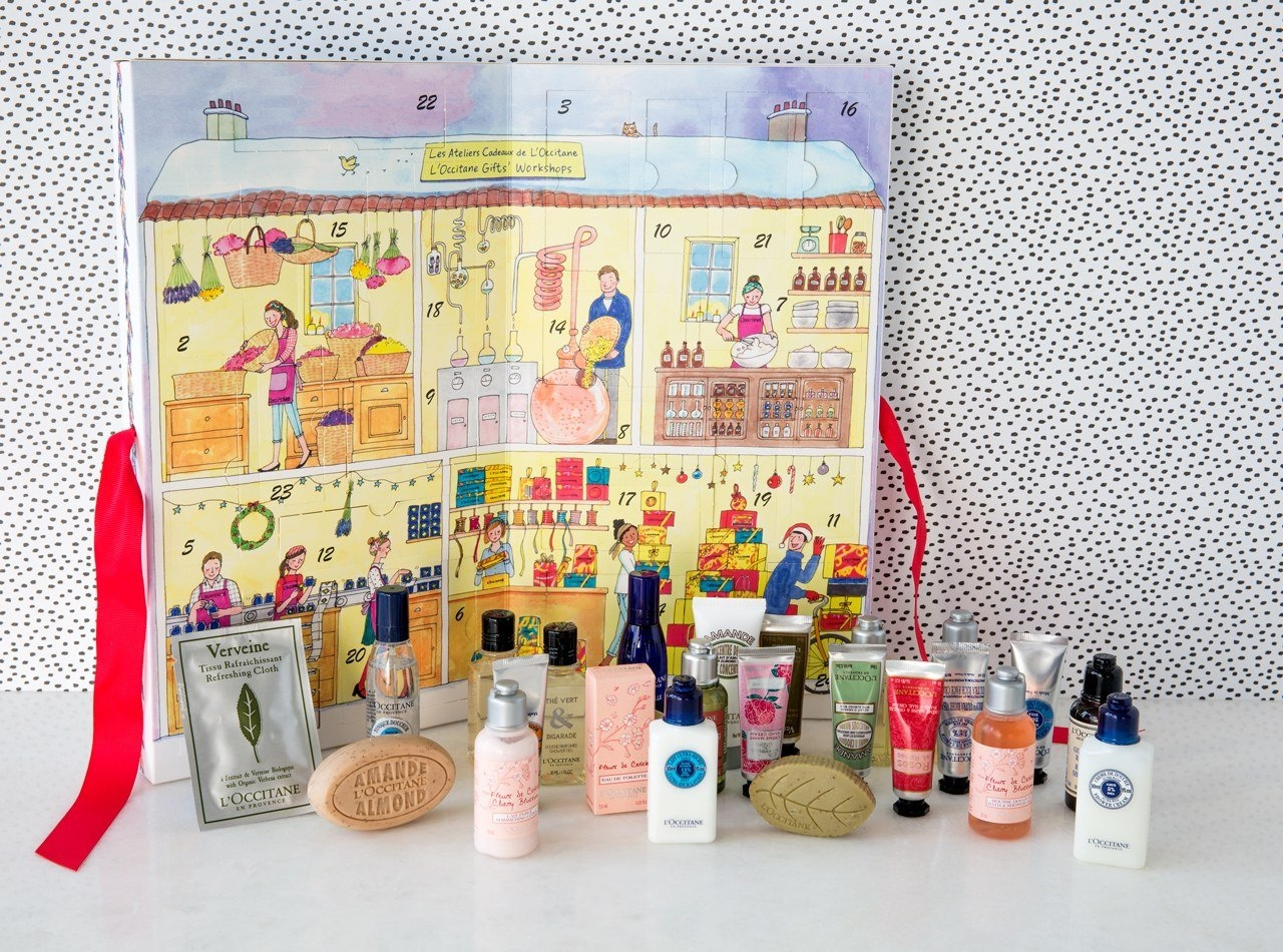 Exclusive: L'occitane's Advent Calendar Is Packed With Beauty L'occitane Advent Calendar 2019