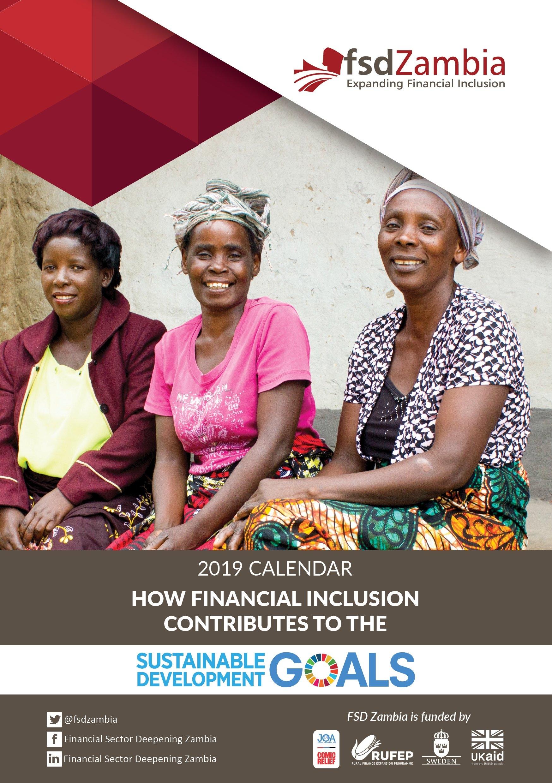 Financial Sector Deepening Zambia | Fsd Zambia Calendar 2019 Calendar 2019 Zambia