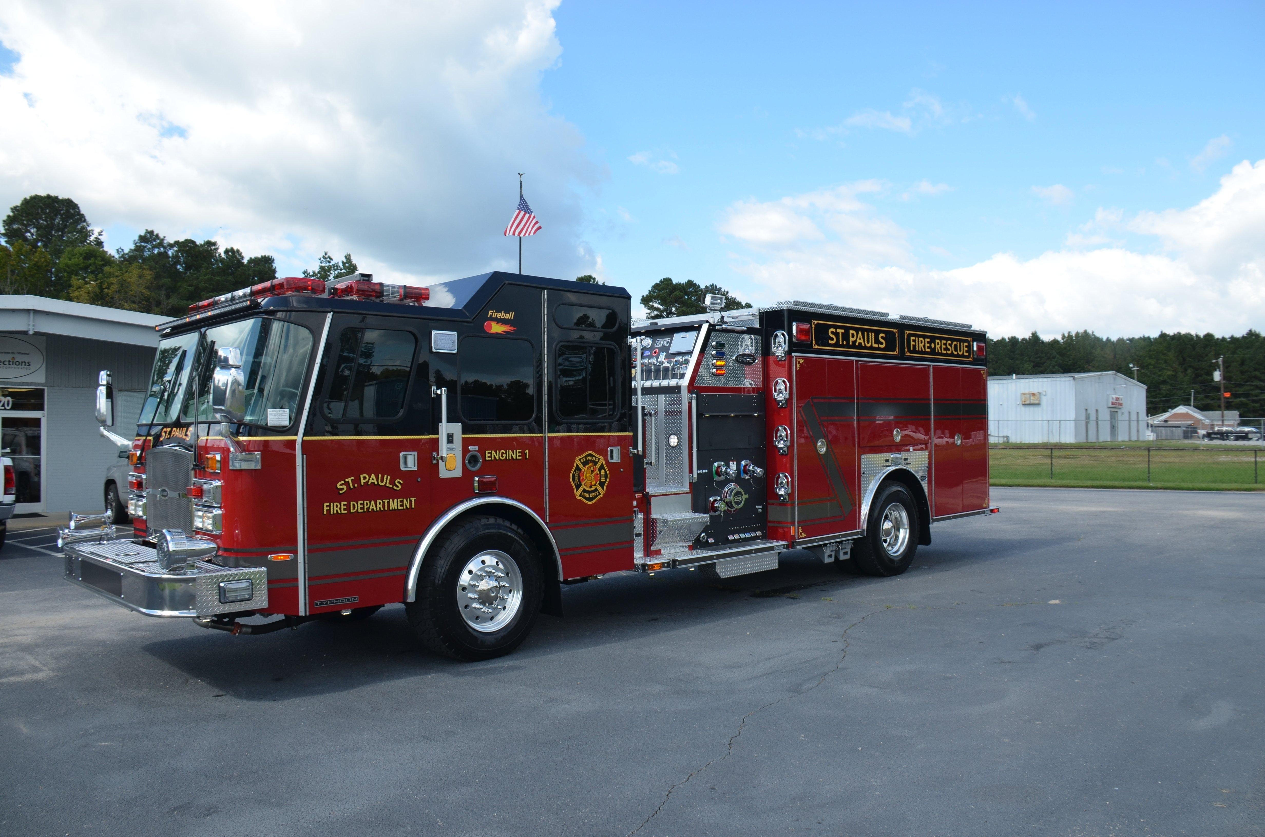 Fire Truck Gallery - E-One E-One 2019 Calendar
