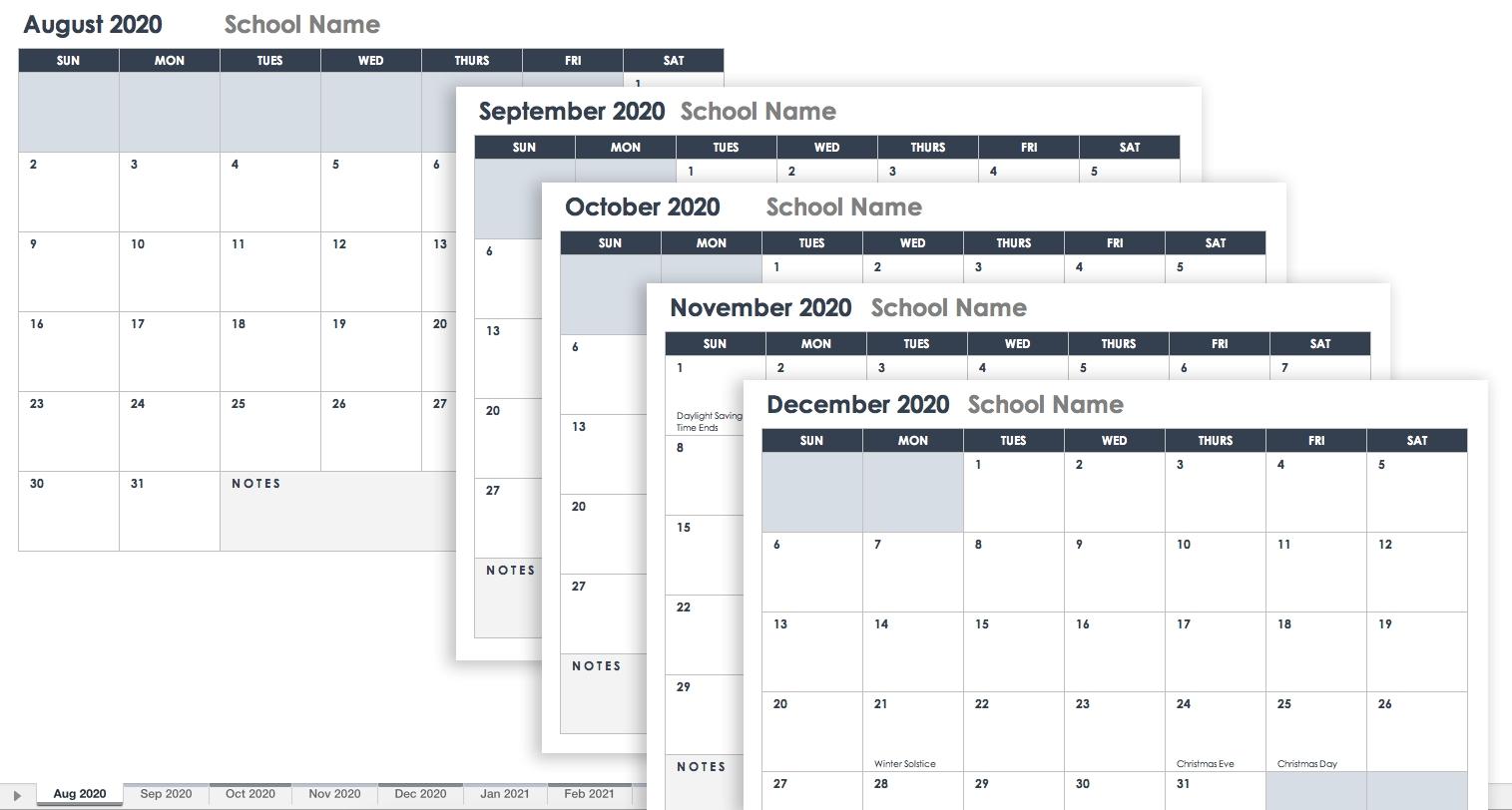 Free Excel Calendar Templates Calendar 2019 Template Excel