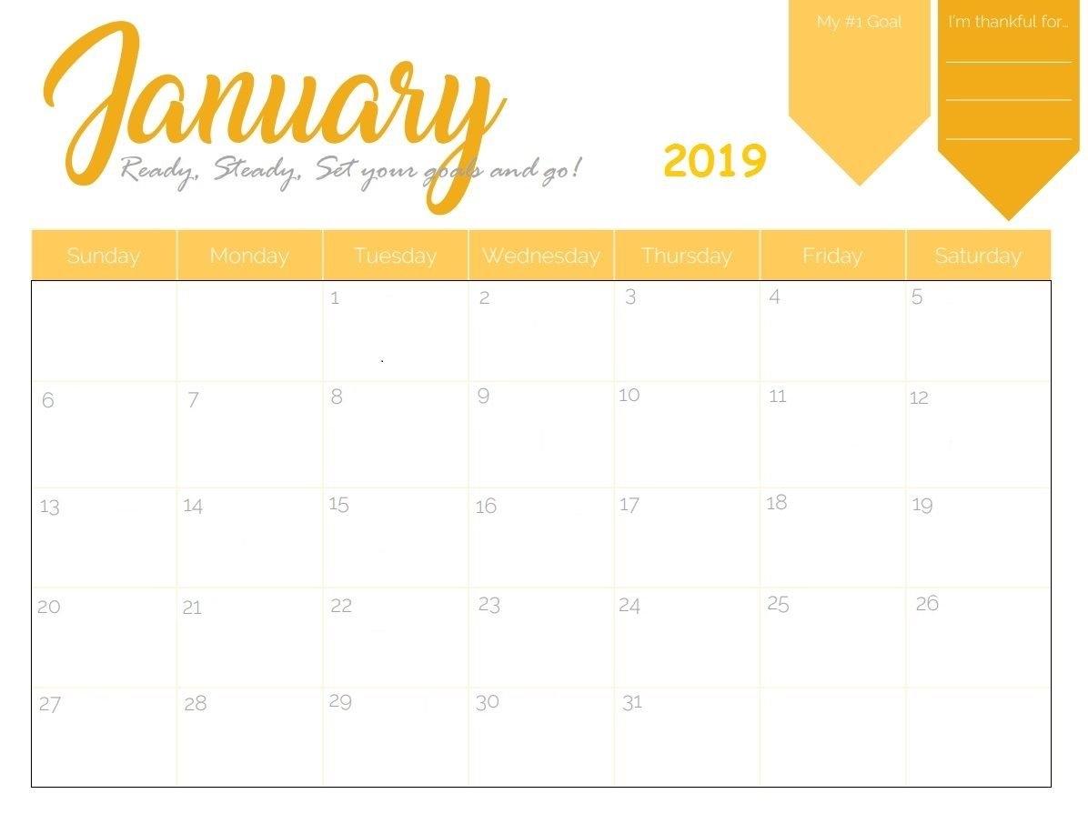 Free Printable 2019 January Calendar | Calendar 2018 | 2019 Calendar Calendar 2019 Maker