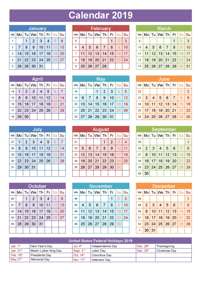 Get Free Printable National Holidays 2019 Qld Calendar | Holidays Calendar 2019 National Holidays