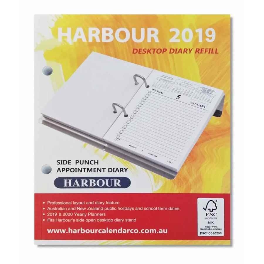 Harbour Side Punch Calendar Refill 2019 - Dia00079 | Cos - Complete Calendar 2019 Refill