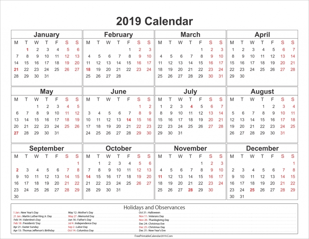 Holidays Calendar Qld 2019 • Printable Blank Calendar Template 2019 Calendar Queensland Printable