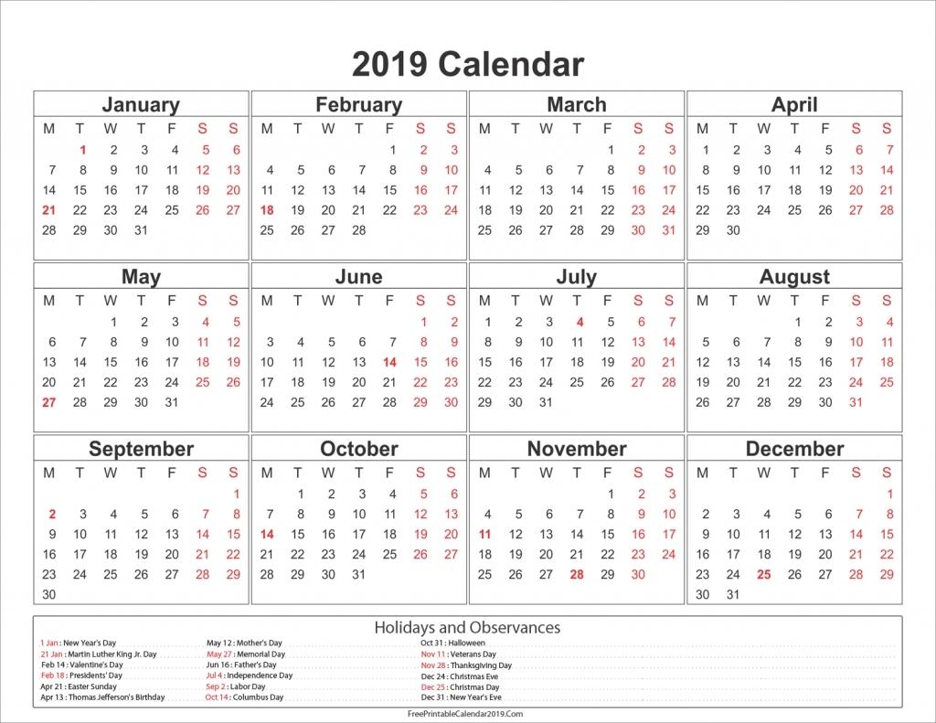 Holidays Calendar Qld 2019 • Printable Blank Calendar Template 2019 Calendar Queensland Printable