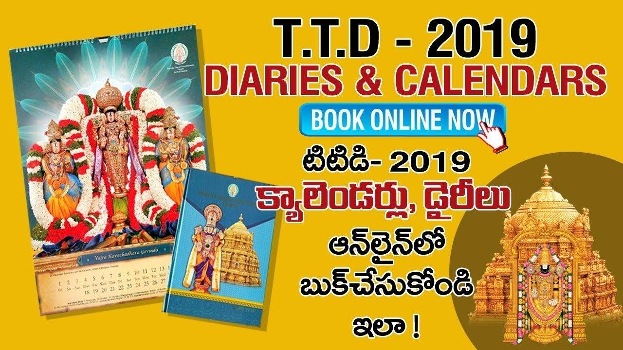 How To Buy Ttd Calendars 2019 - Online Shopping ? - Youtube T T D Calendar 2019