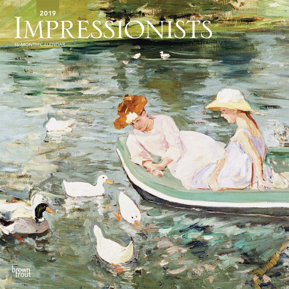 Impressionists 2019 12 X 12 Inch Monthly Square Wall Calendar Calendar 2019 Artist