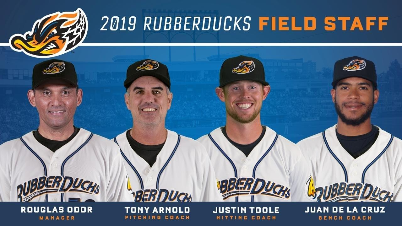 Indians Announce Rubberducks '19 Field Staff | Akron Rubberducks News Akron U Calendar 2019