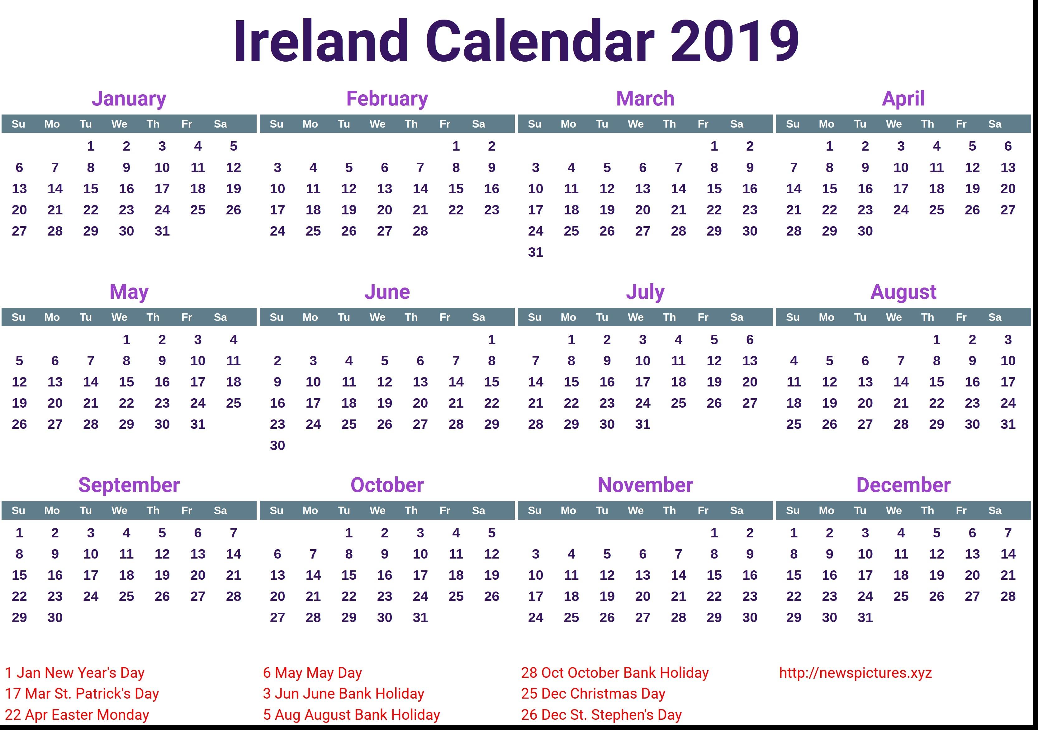 Information Regarding 2019 Calendar Singapore Pdf - Calendar Online 2019 Calendar 2019 Ireland