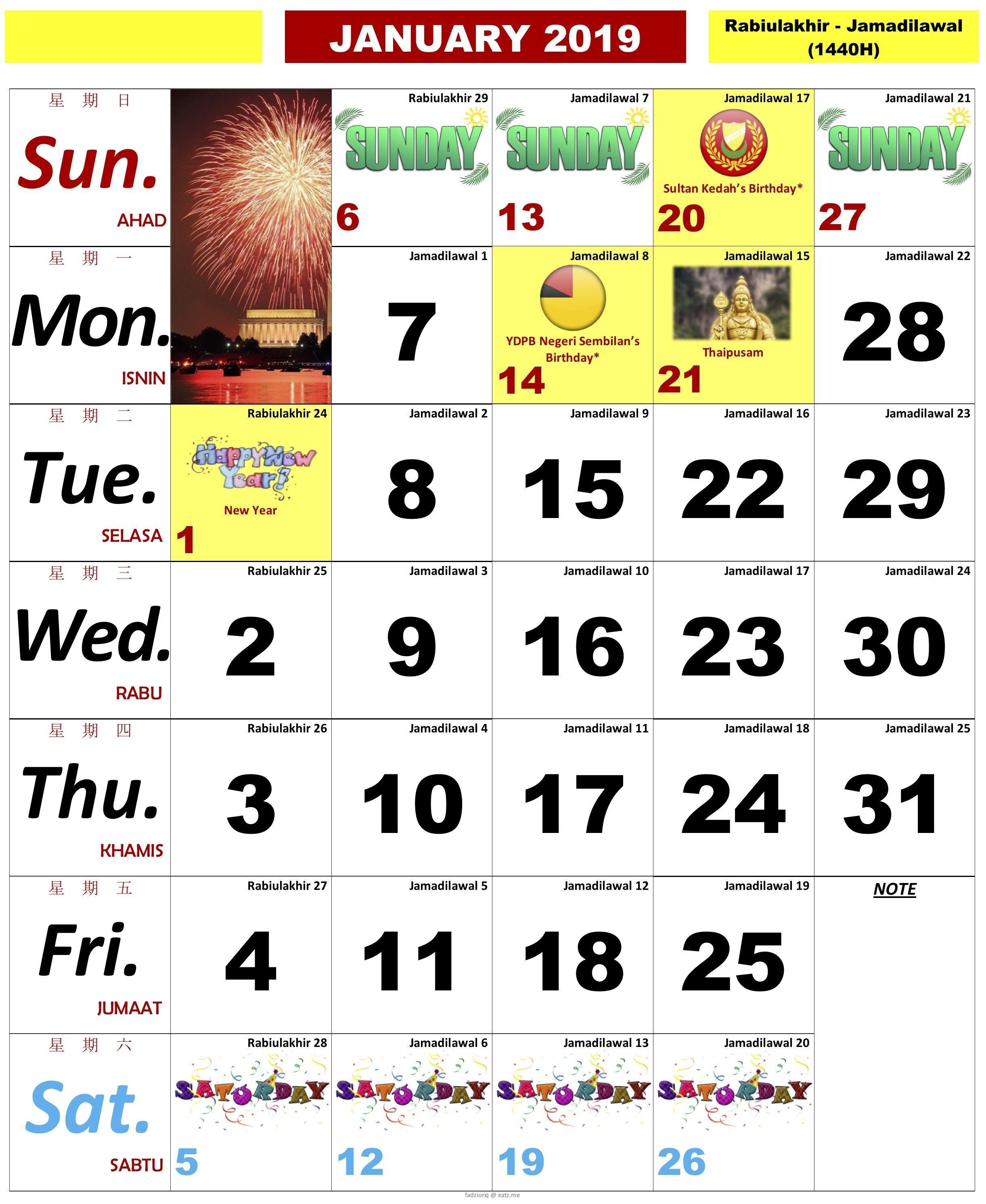 Information Regarding Kalendar Kuda 2019 Malaysia Pdf - Calendar Calendar 2019 Kuda Pdf