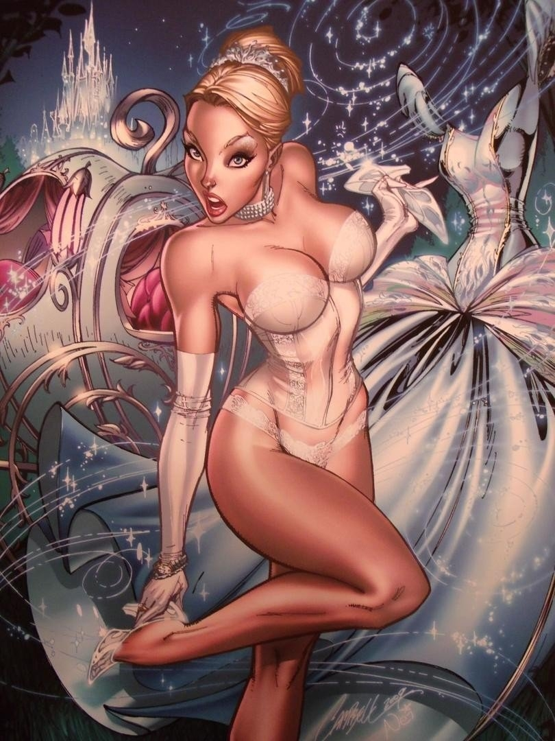 J Scott Campbell Fairytale Fantasies Limited Edition 48/50 J Scott Campbell Calendar 2019