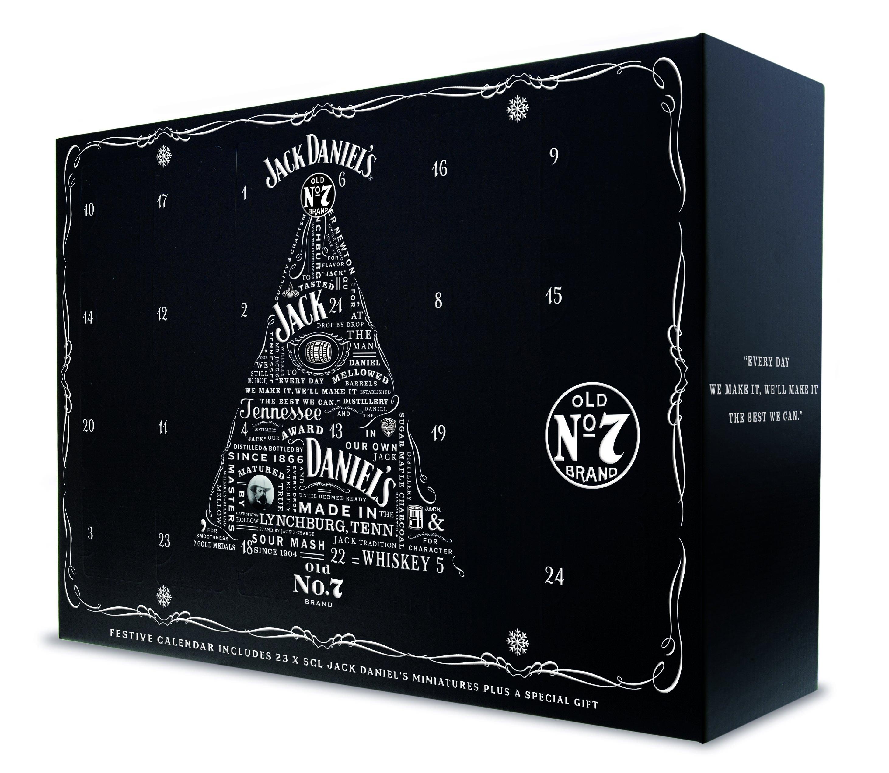 Jack Daniel's Festive Whiskey Calendar | The Jack Store No 7 Advent Calendar 2019