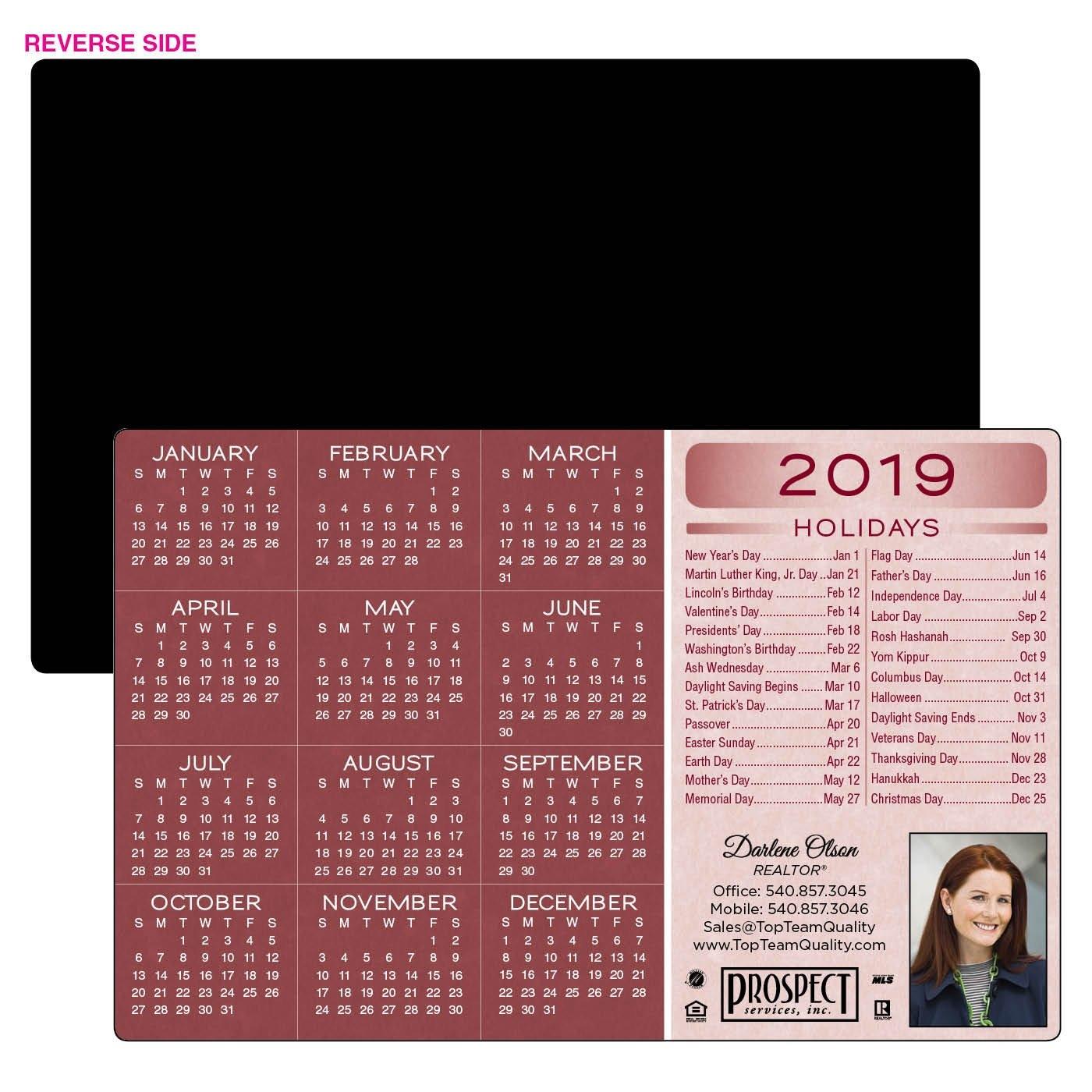 Jumbo Calendar Magnet | 5585 | Holiday List Calendar 2019 Magnet
