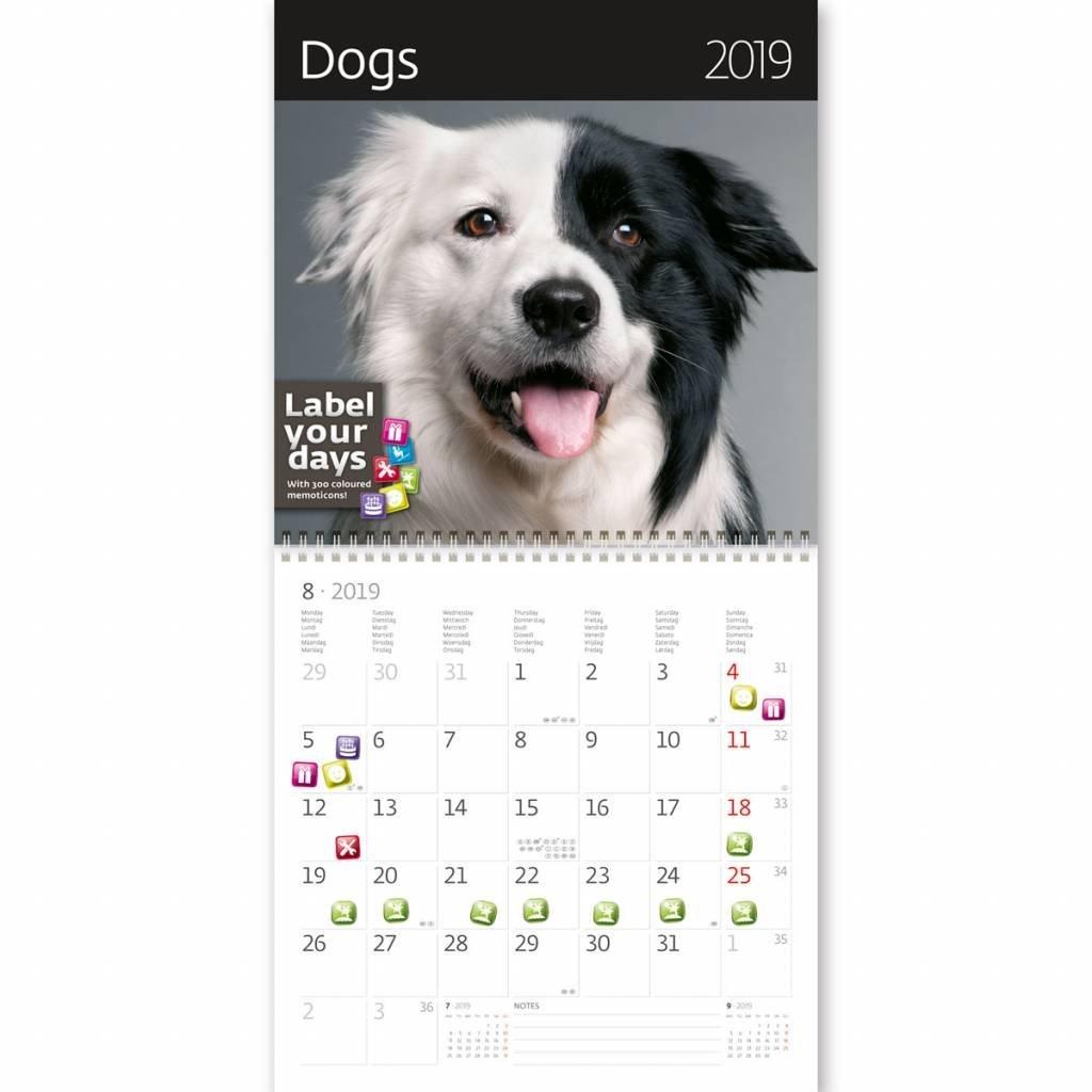 Kalpa Wall Calendar 2019 Dogs - Kalpa Calendar 2019 Dogs