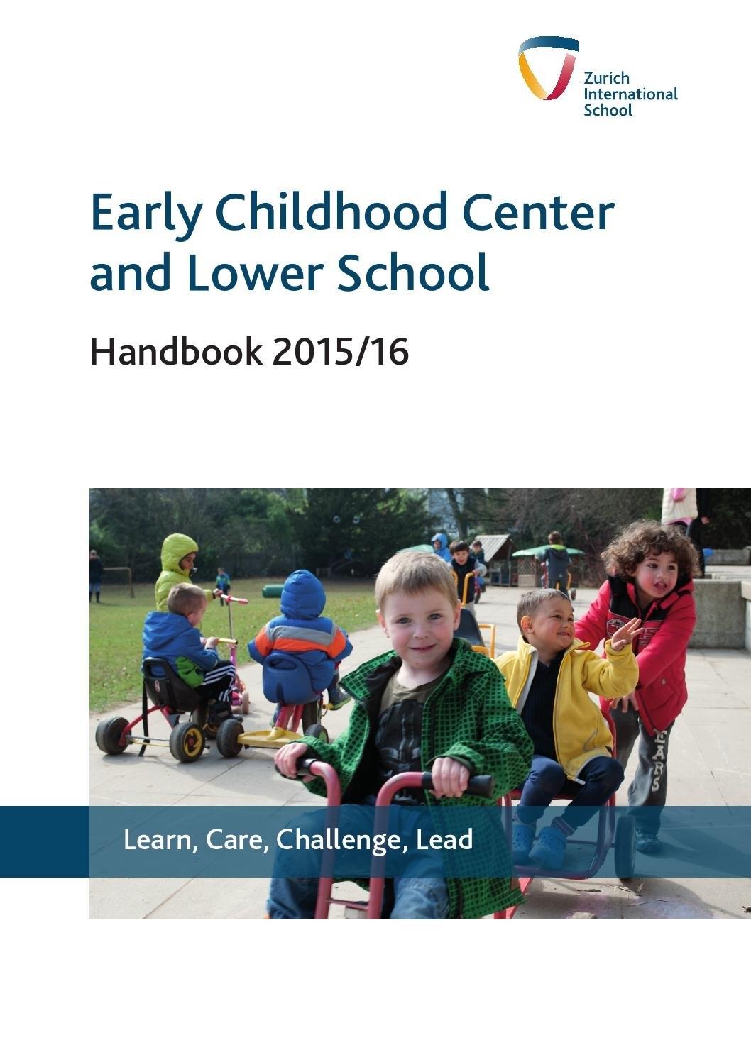 Lower School & Ecc Handbookzurich International School - Issuu Zis Calendar 2019