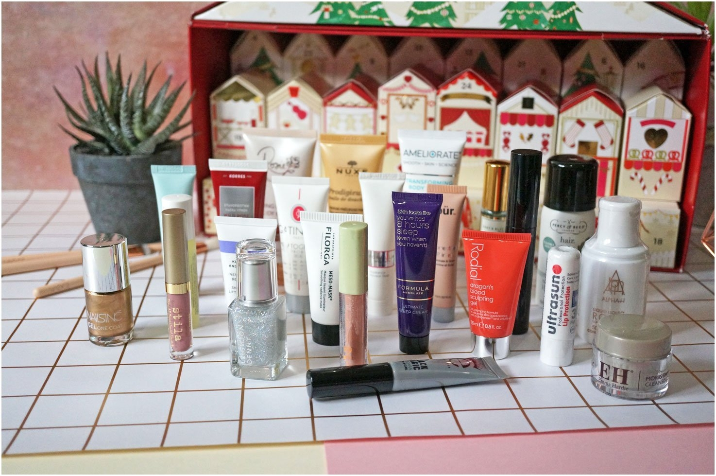 M And S Advent Calendar 2017 To Download Or Print | Americanwomanmag M&s Beauty Advent Calendar 2019