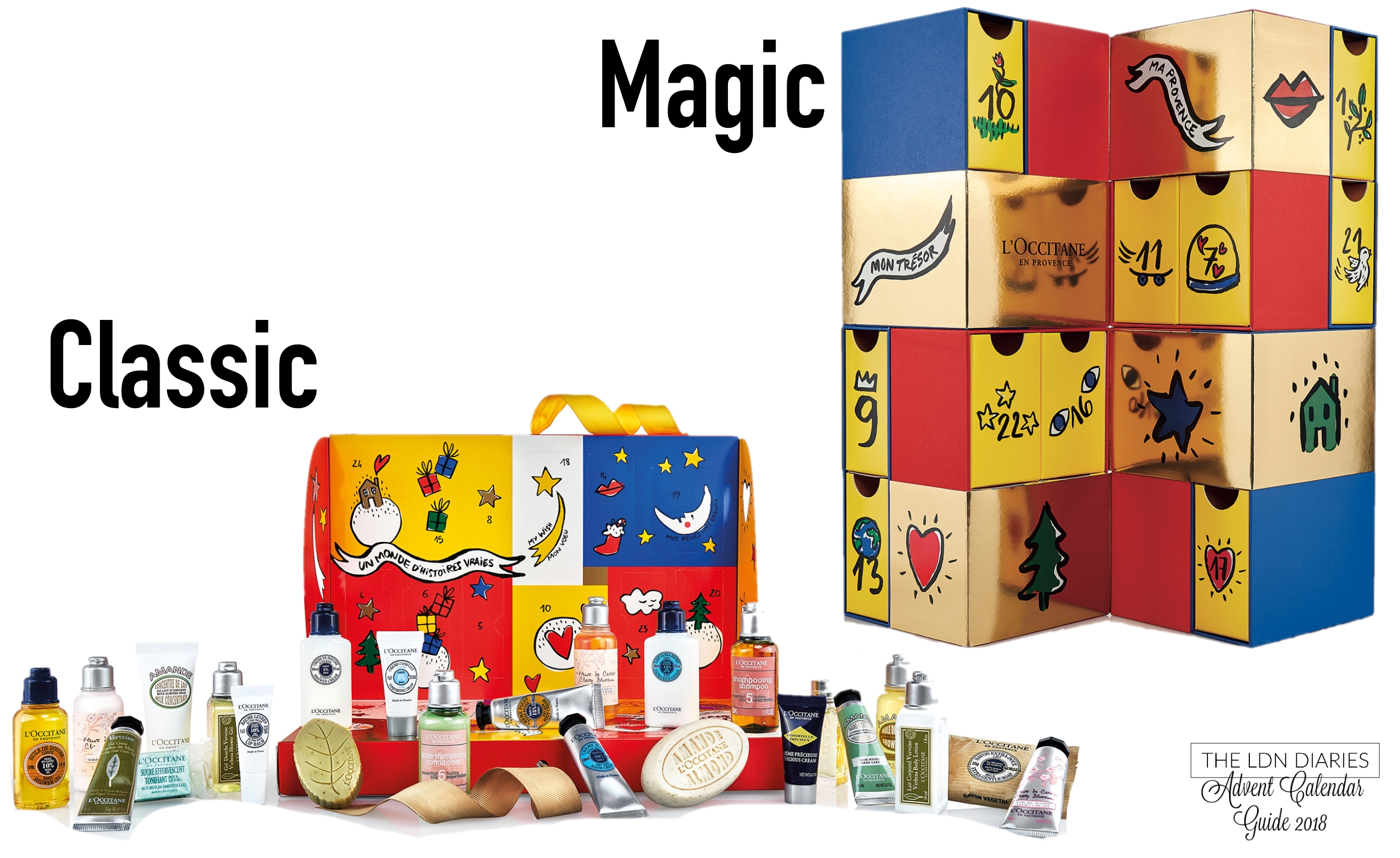 Madaish: Beauty Advent Calendar Guide 2018 L'occitane Advent Calendar 2019