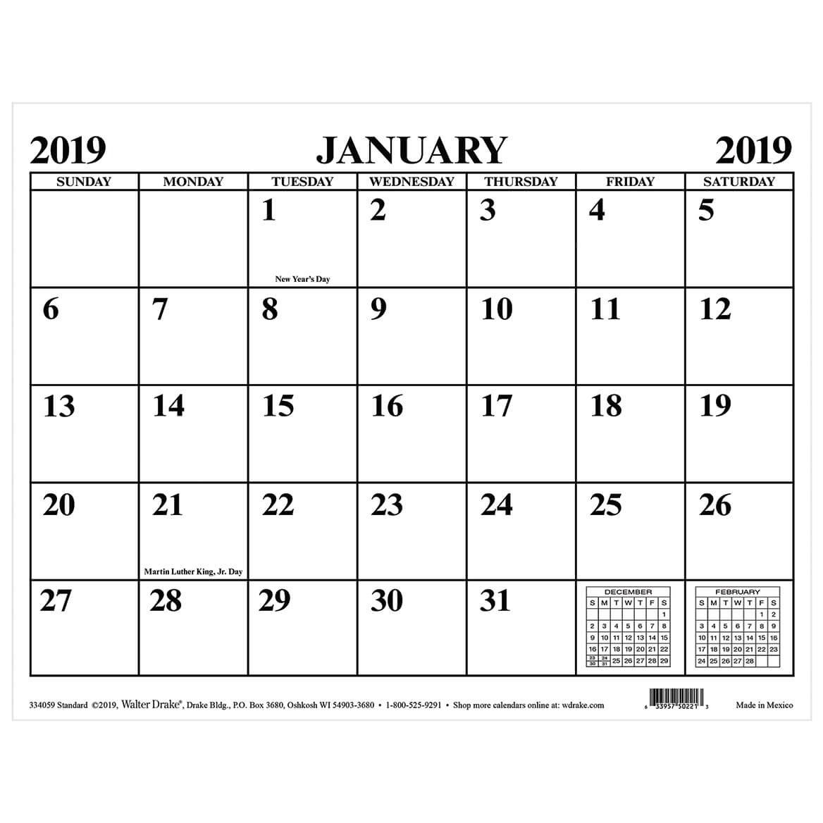 Magnetic Calendar - Monthly Magnetic Calendar - Walter Drake Calendar 2019 Magnet