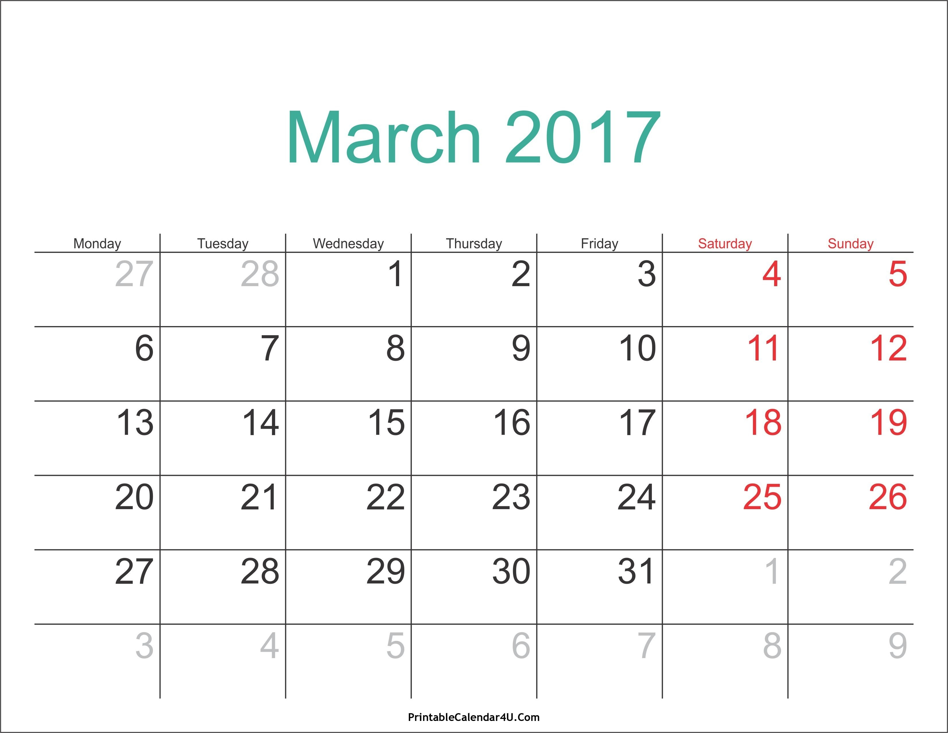 March 3 2019 Calendar | Calendar Format Example 3/2019 Calendar