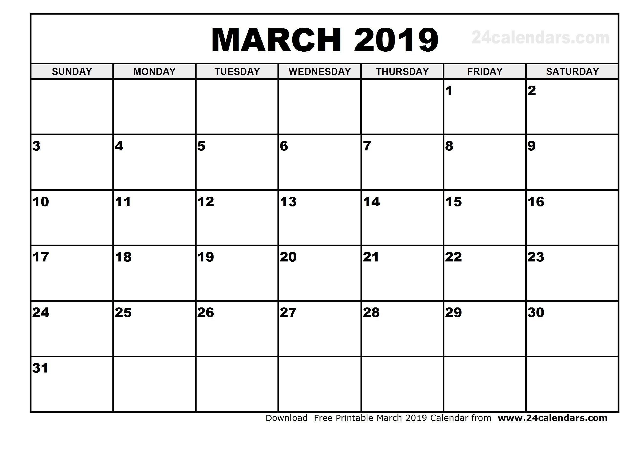 March 4 2019 Calendar | Calendar Format Example March 4 2019 Calendar