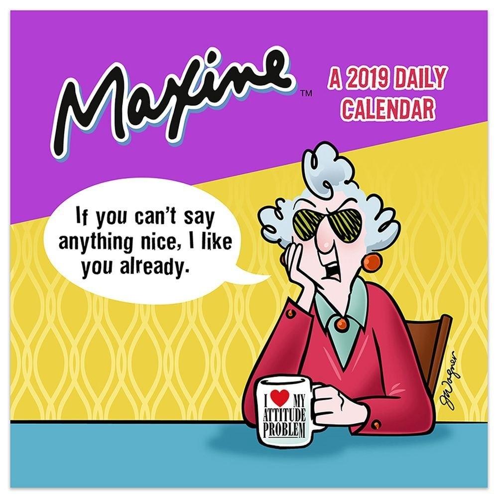 Maxine 2019 Desk Calendar-Calendars-Books & Gifts - Foodsniffr Store Studs N Spurs Calendar 2019