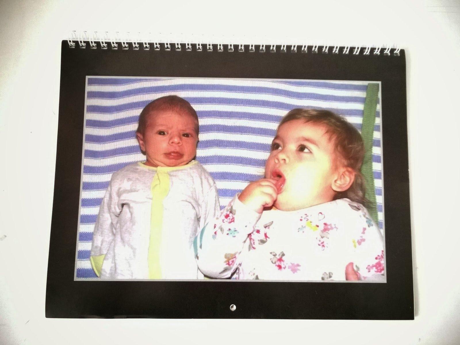 Mummy's Little Blog: Vistaprint Photo Wall Calendar Review Calendar 2019 Vistaprint