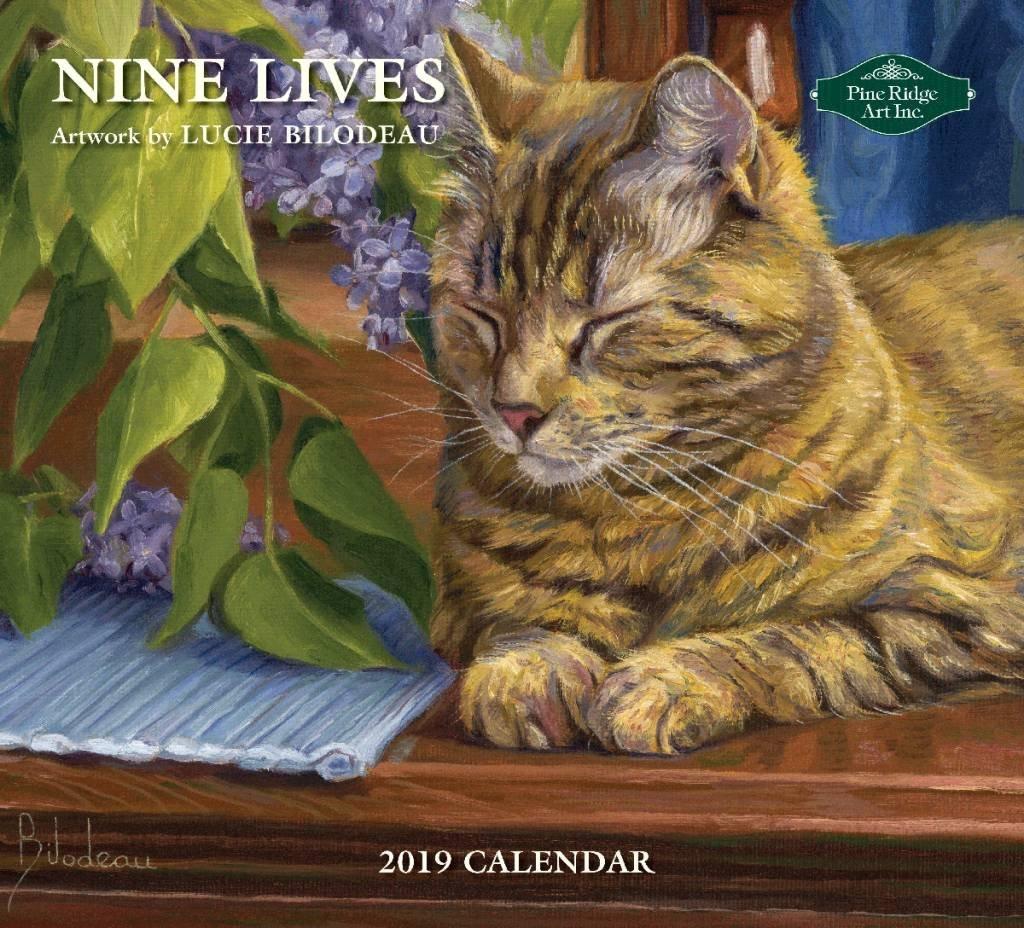 Nine Lives 2019 Wall Calendar   The Lang Store 9 Lives Calendar 2019