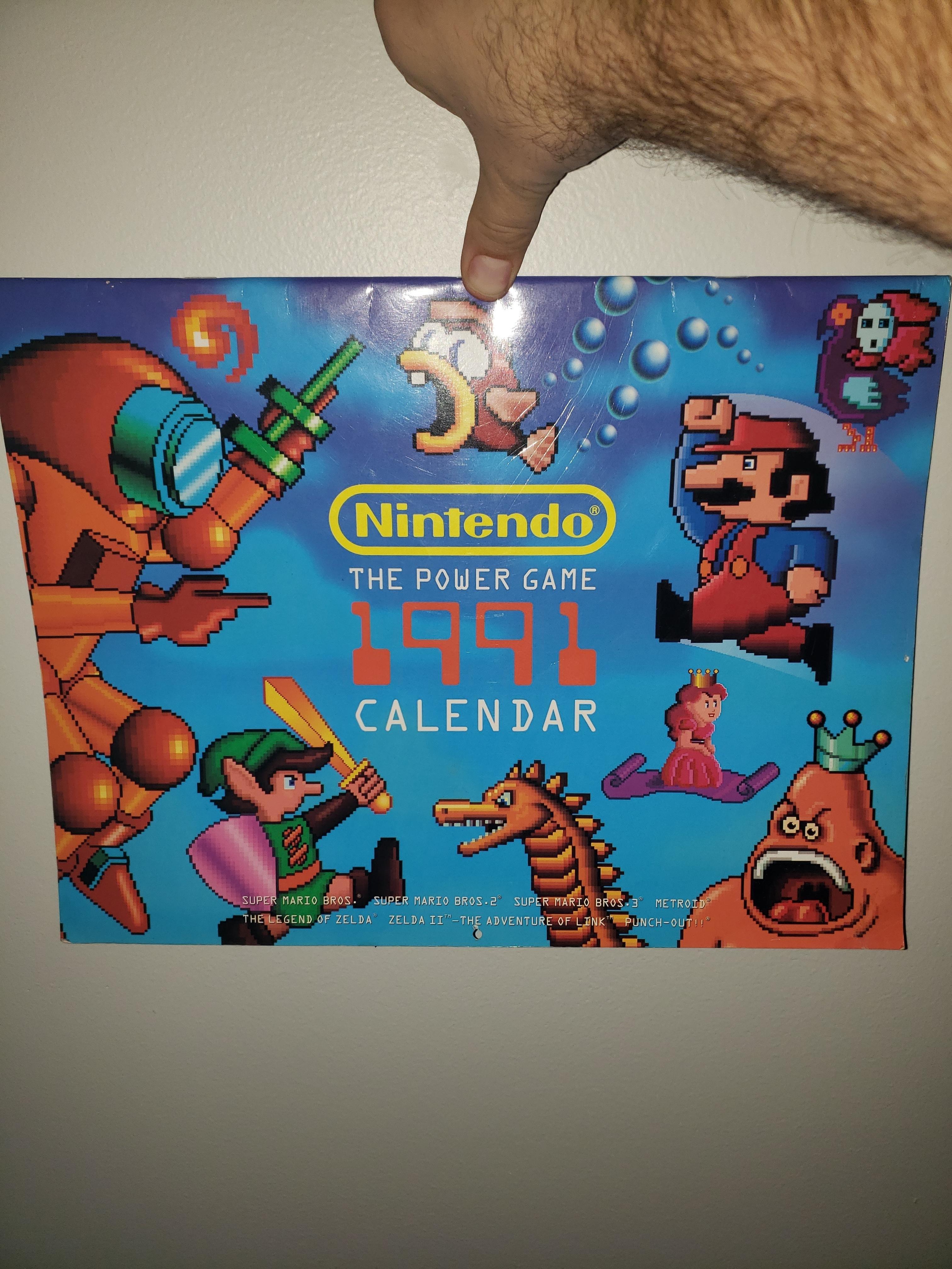 Nintendo Calendar That Lines Up With 2019. - Album On Imgur Zelda Calendar 2019
