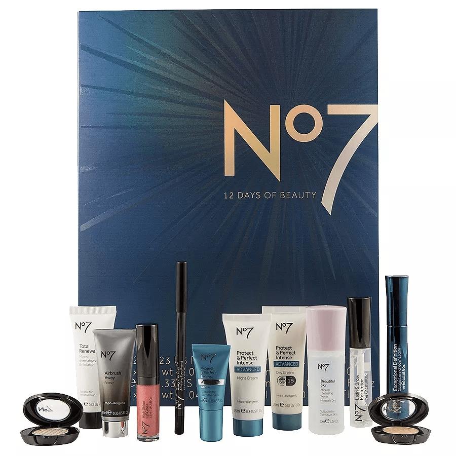 No7 12 Days Of Beauty Advent Calendar 2017 Available Now! - Hello No 7 Advent Calendar 2019