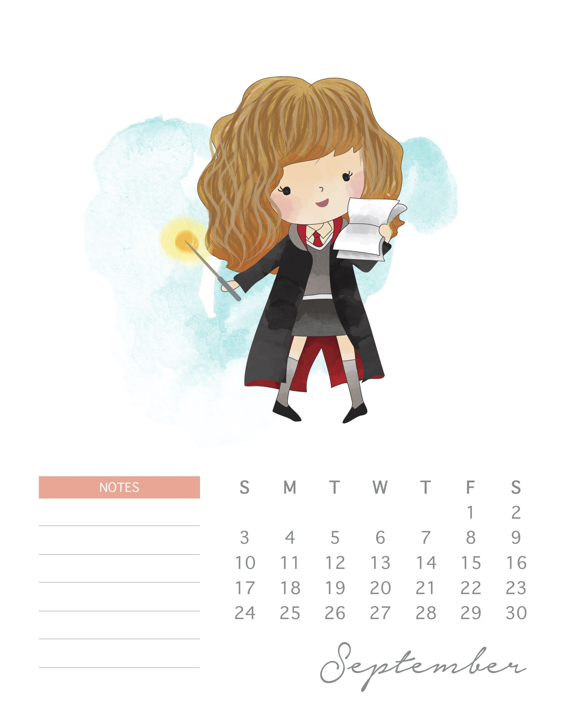 Pinphil Nguyen On Printables | Pinterest | Harry Potter Calendar Calendar 2019 Harry Potter
