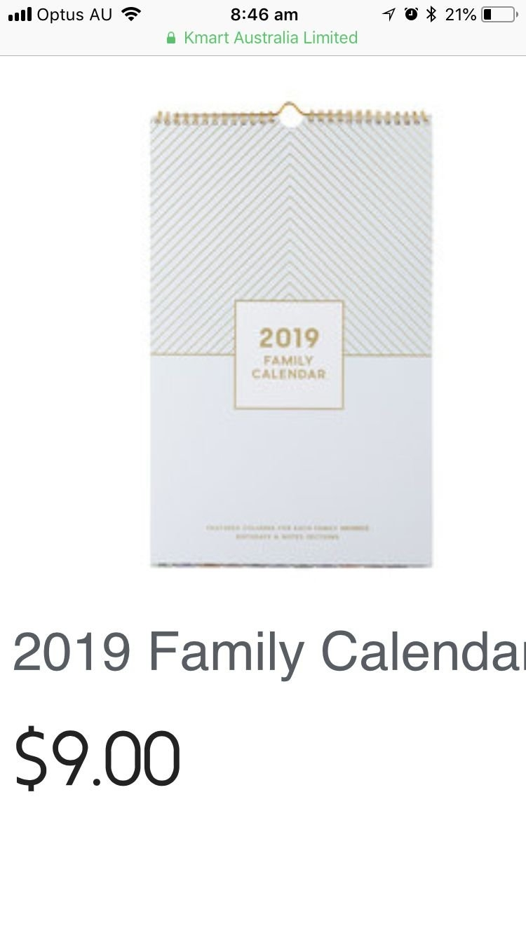 Pinsally On Kmart | Pinterest Calendar 2019 Kmart