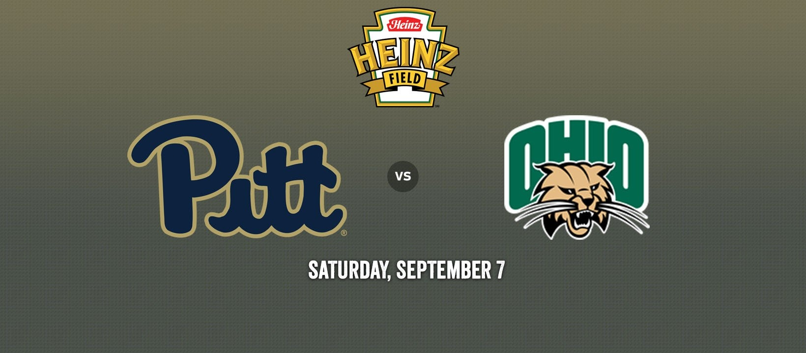 Pitt Panthers Vs. Ohio Bobcats ⋆ Heinz Field In Pittsburgh, Pa U Pitt Calendar 2019