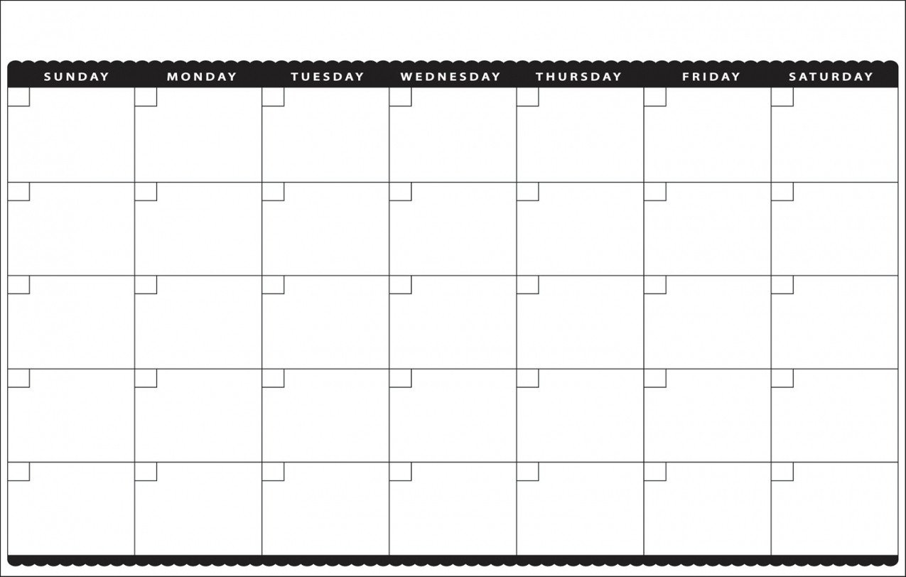 Printable Monthly Calendar 11X17   Monthly Calendar 2019 Calendar 2019 11X17