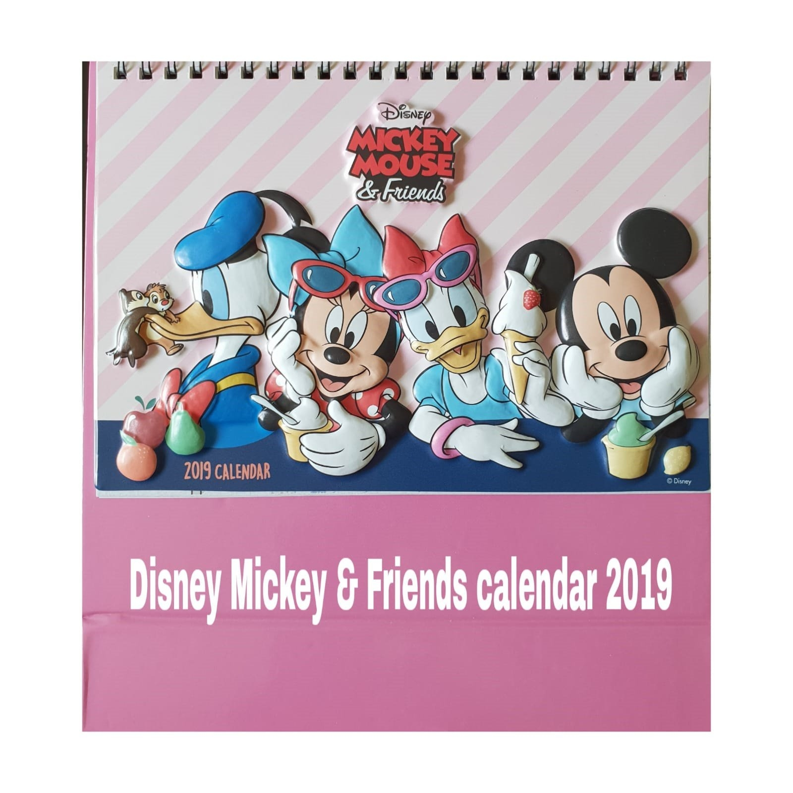Qoo10 - Disney Calendar 2019 : Stationery & Supplies Calendar 2019 Qoo10
