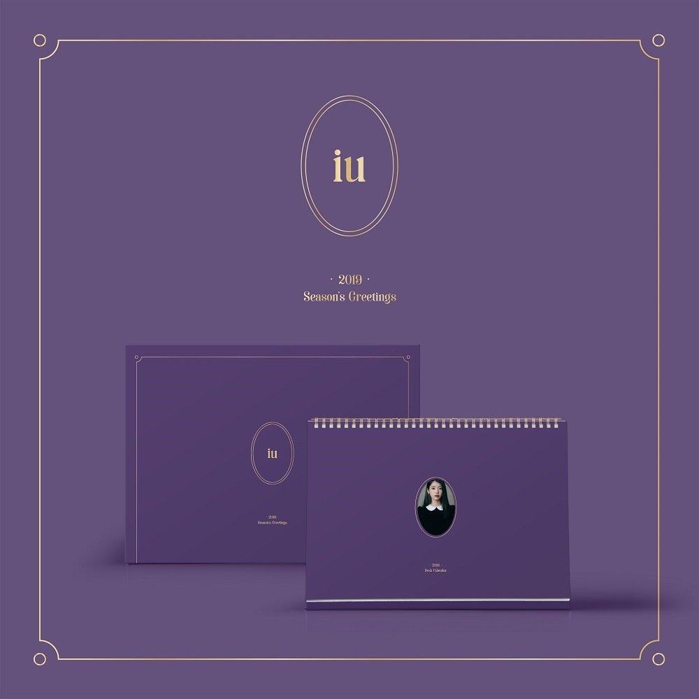 Qoo10 - Iu 2019 Calendar : Cd & Dvd Calendar 2019 Qoo10
