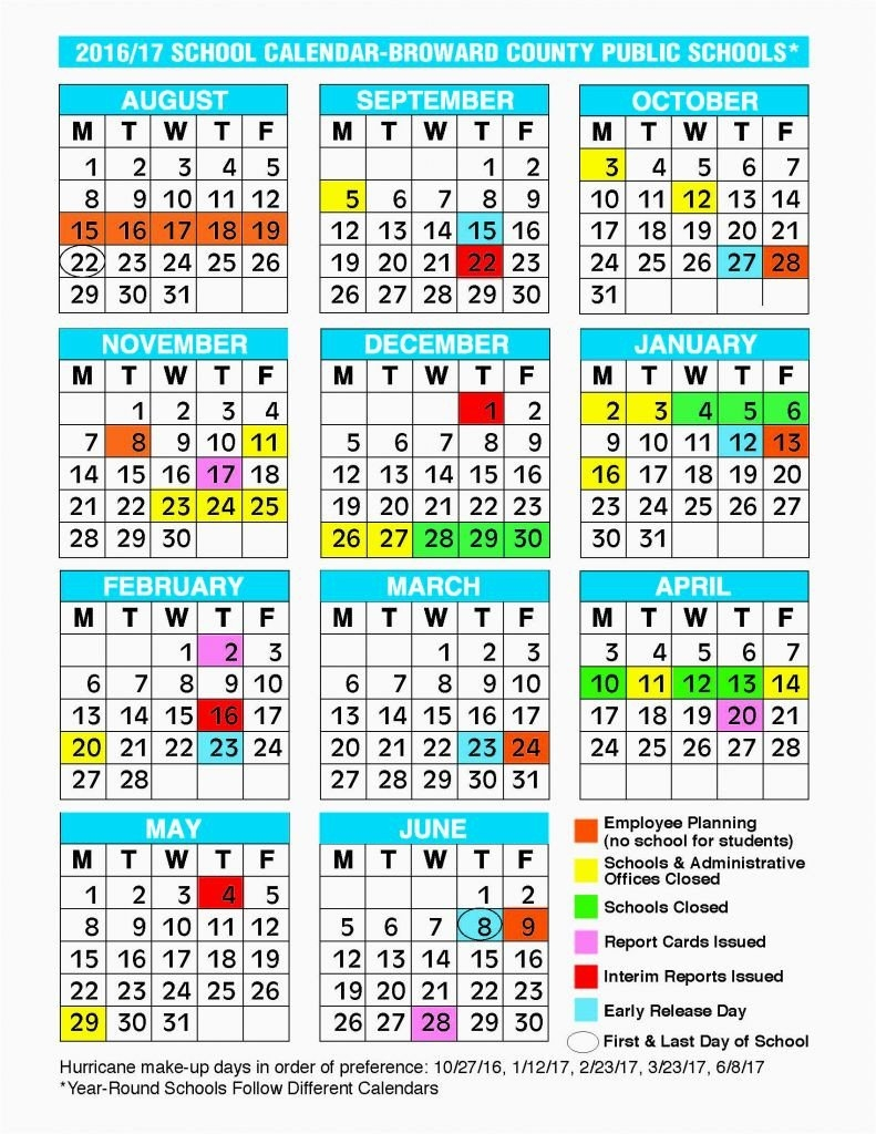 Rochester City School District Calendar 2018 2019 | Moneksy School Calendar 2019-20 Broward
