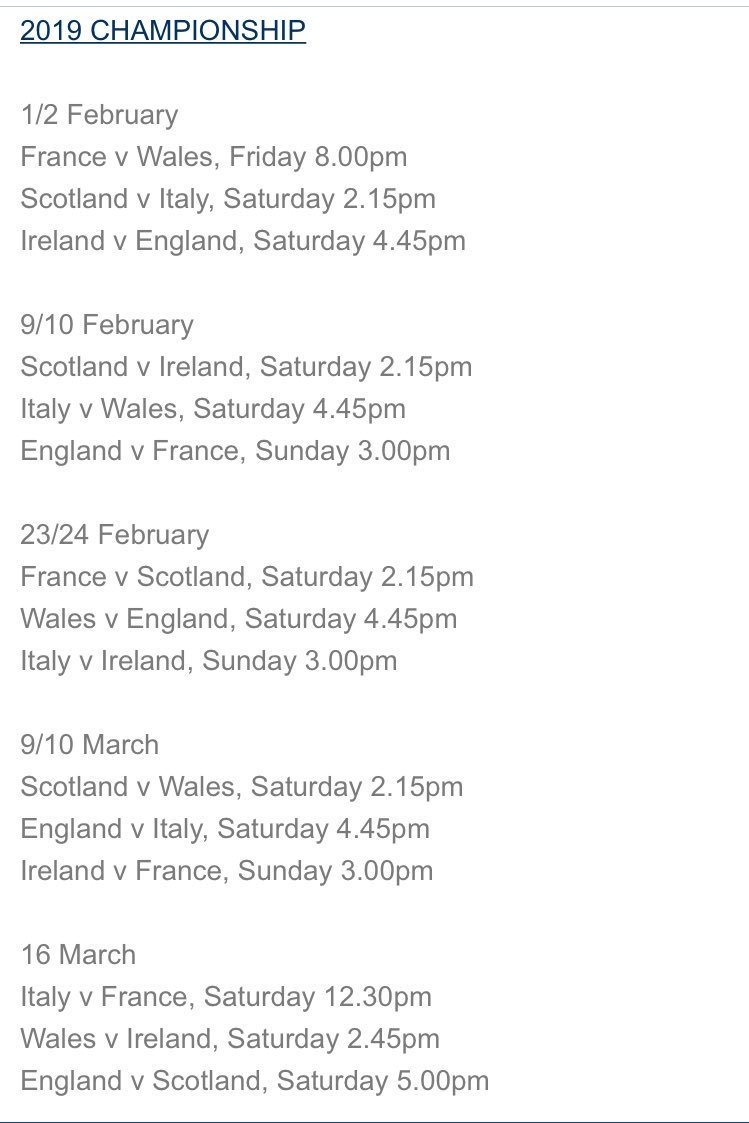 """Scottish Rugby On Twitter: """"breaking 