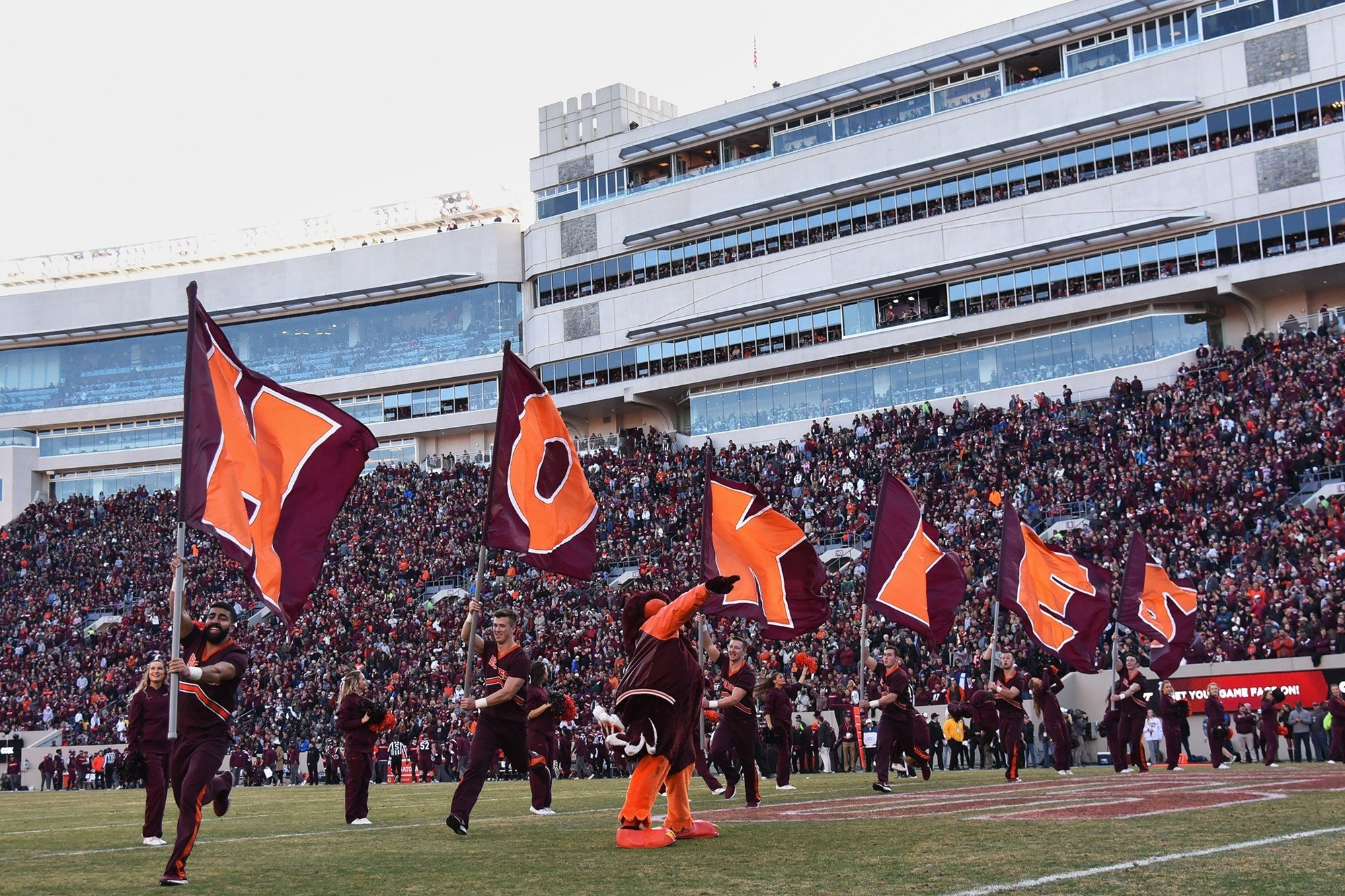 Tech's 2019 Football Schedule Features Seven Games At Lane Stadium Virginia Tech Academic Calendar 2019-20