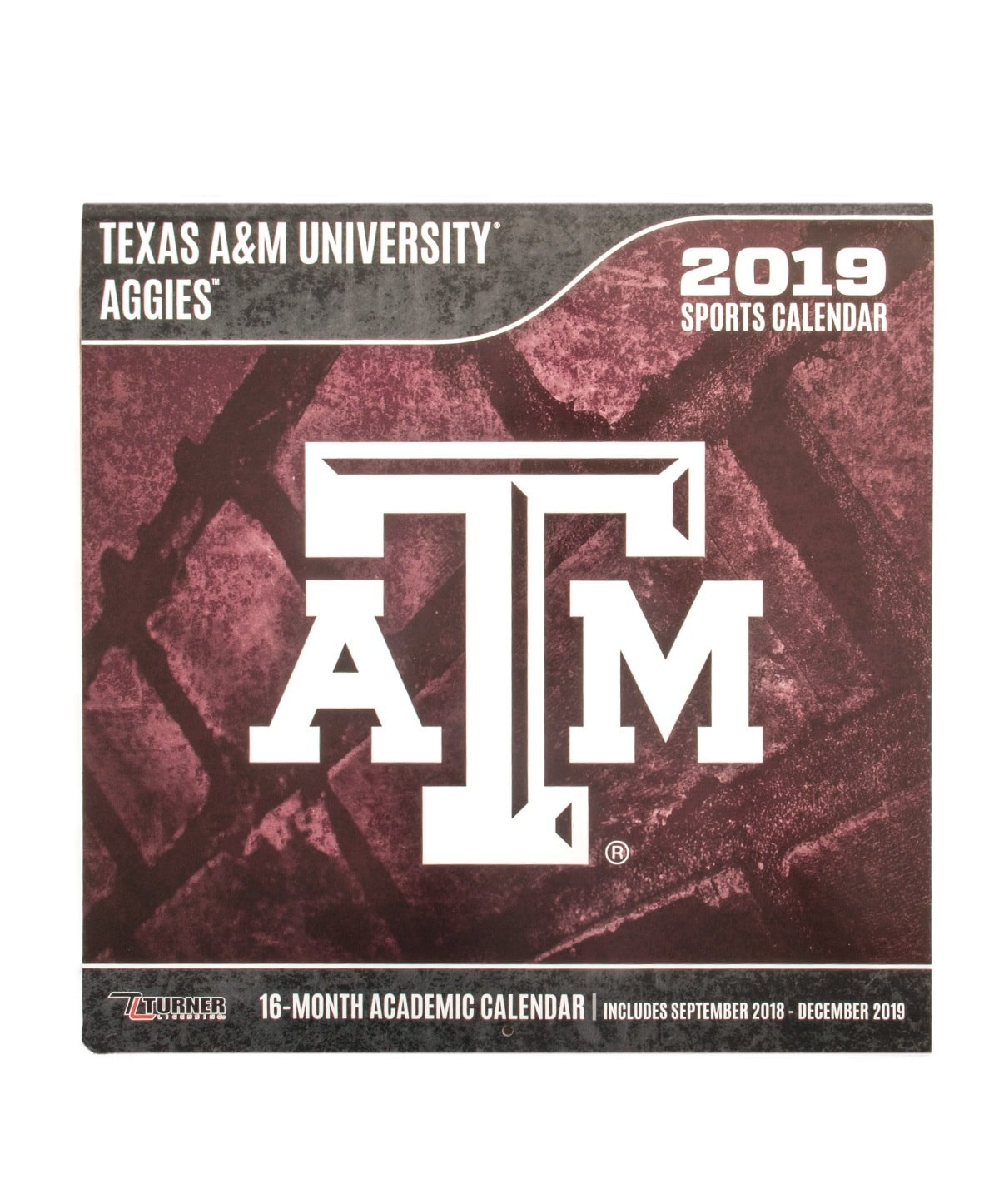 Texas A&m Aggies 2019 Team Wall Calendar Maroon | Aggieland Outfitters Texas A&m Calendar 2019