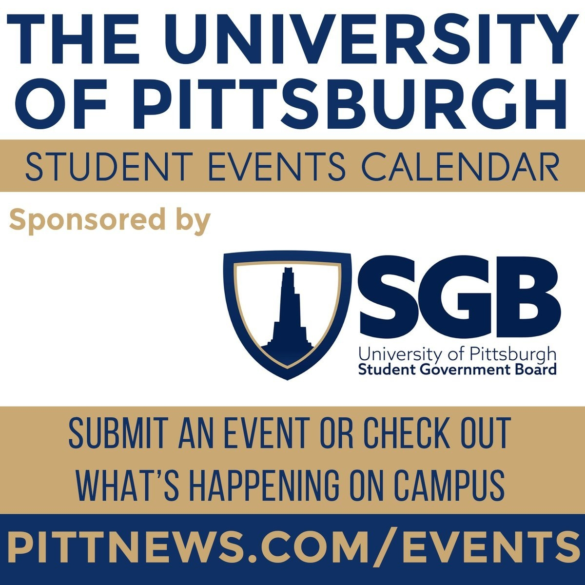 "The Pitt News On Twitter: ""fill Up Your Weekend Calendar With Events U Pitt Calendar 2019"
